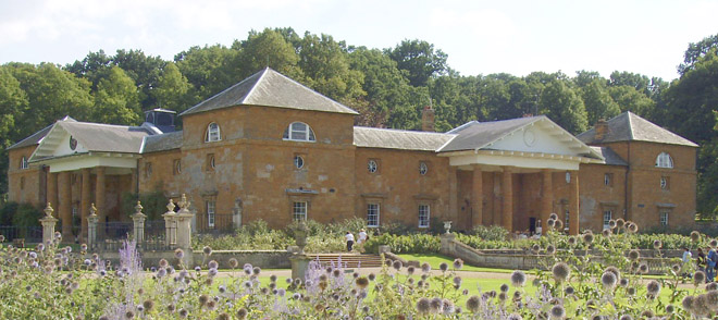 Althorp stable block where T Goddard lived