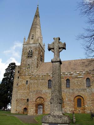 All Saints, Brixworth