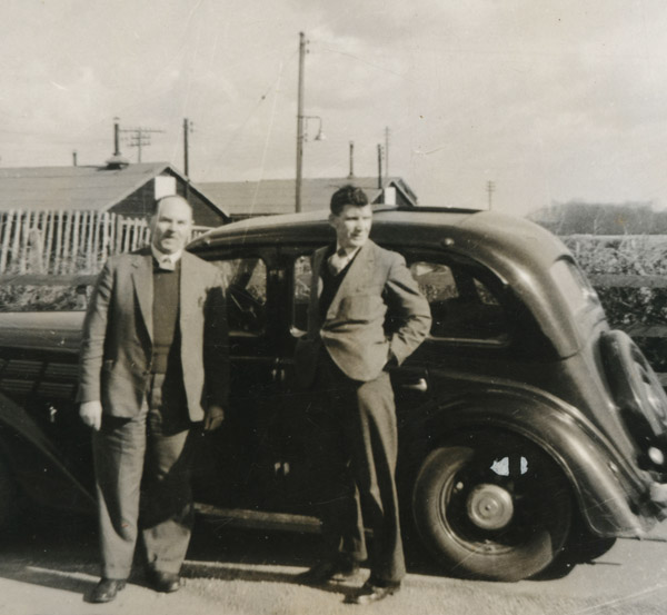 Gdad and old motor 600