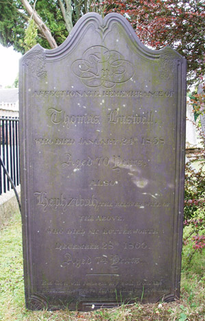 Grave: Thomas & Heph Buswell