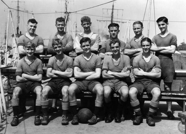 HMS Quality football team 600