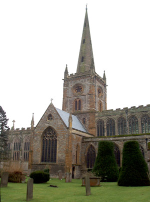Holy Trinity Church, Stratford on Avon, Warwickshire