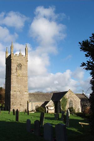 Church, Mawgan in Meneage, Cornwall