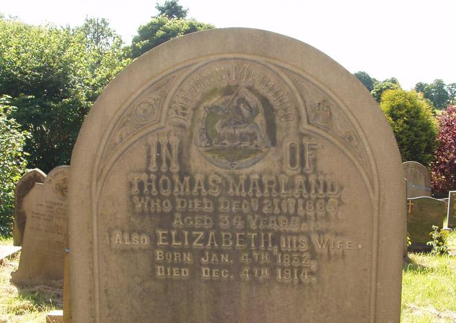 Grave: Thomas & Elizabeth Marland