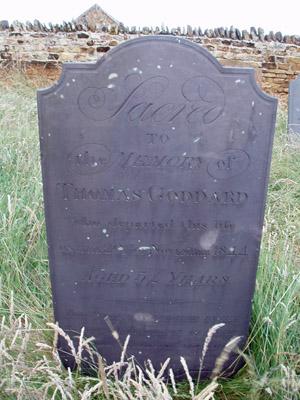 Grave: Thomas Goddard_Brixworth