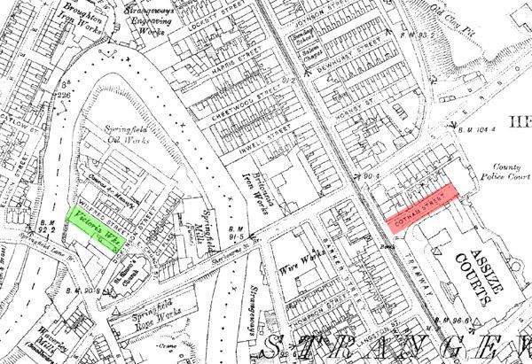 Victoria Works & Cotham Street c1920_smaller
